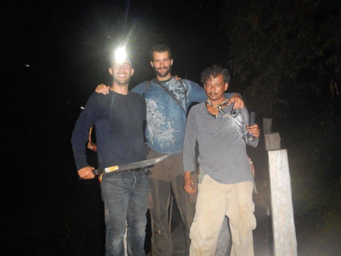 De ruta nocturna para encontrar al Jaguar
