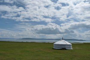Gerg típico de Mongolia