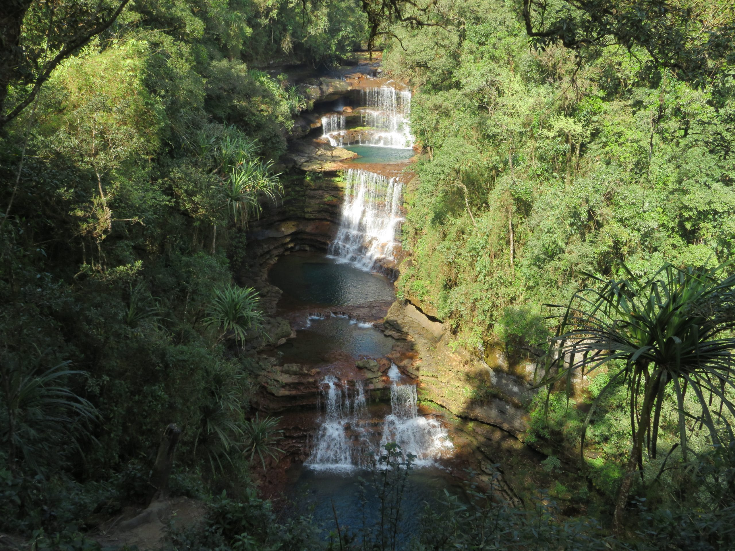 Cascada en cherapunjo